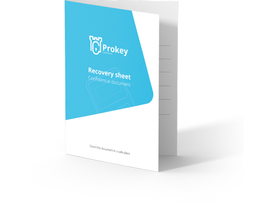 Recovery Sheet